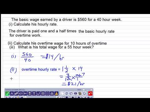 wages and overtime question