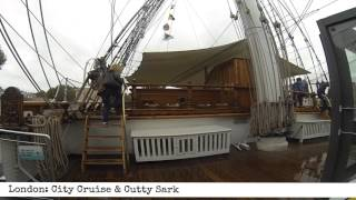London: City Cruise & Cutty Sark (40 Second Review)