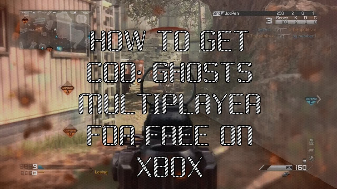 """How to get """"Call of Duty: Ghosts"""" Multiplayer for FREE ..."""