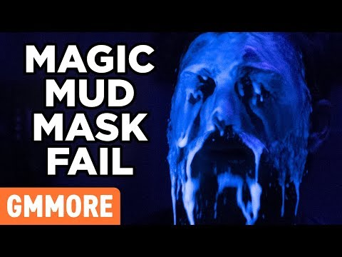 Magic Mud Face Mask Test