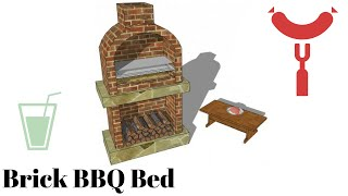 Brick Barbeque Plans