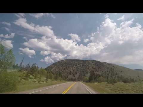 scenic drive in wyoming...snowy range