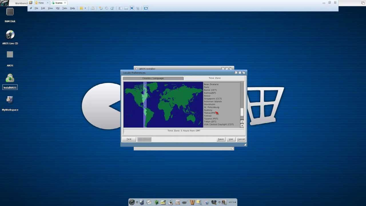 How to install Amiga OS 3 1 Compatible Icaros on VMWare