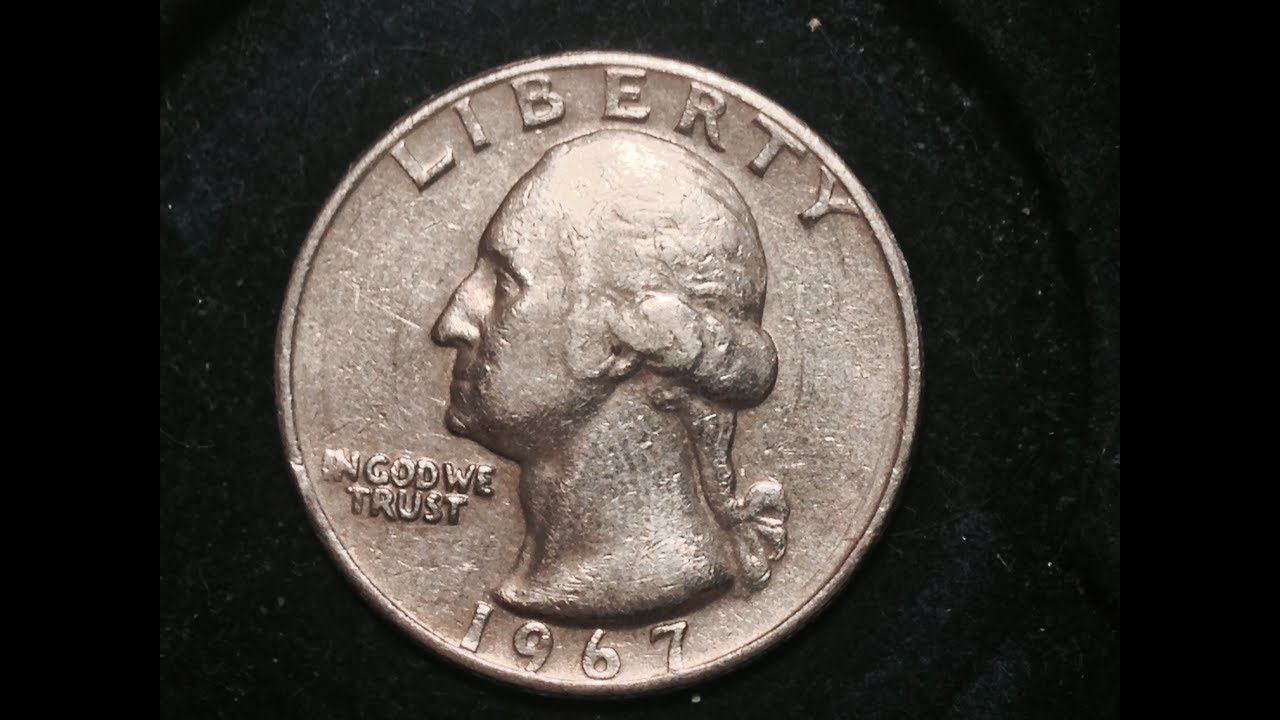 1967 Quarter Mintage 15 Billion