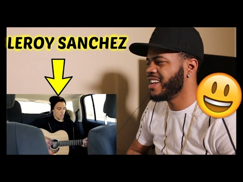 SAM SMITH - I'm Not The Only One (Leroy Sanchez Cover) REACTION!!