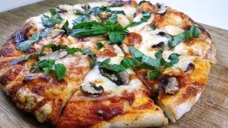 5 Minute Pizza Dough From Scratch | August Cooking | Vegetarian Recipe | Pizza Recipe | How To Cook