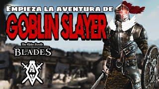 Empieza la aventura de GOBLIN SLAYER en THE ELDER SCROLLS: BLADES