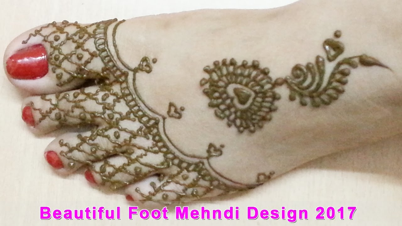 Mehndi Designs Feet N : New foot leg mehndi designs best design latest