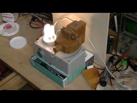 Lighting a failing CFL bulb