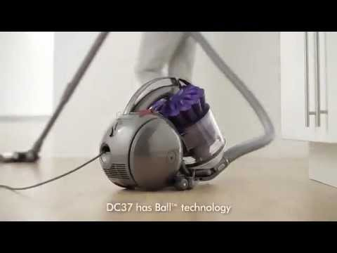 dyson dc37 turbinehead animal canister vacuum at sears doovi. Black Bedroom Furniture Sets. Home Design Ideas