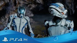 Mass Effect: Andromeda | Official 4K Gameplay Trailer | PS4 Pro