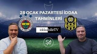 iddaabilirTV/28 ocak iddaa tahminleri/free picks/spor tahmin Video