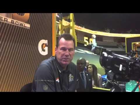 Gary Kubiak On Broncos Offense At #SB50 Media Day