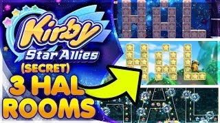 ALL 3 Secret HAL Rooms In Kirby Star Allies & How To Find Them! [Easter Egg]