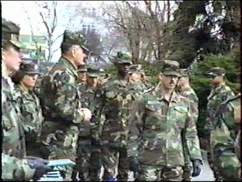 Award Ceremony at 106th Transportation Battalion, Russelsheim Germany   (part 1 of 4)