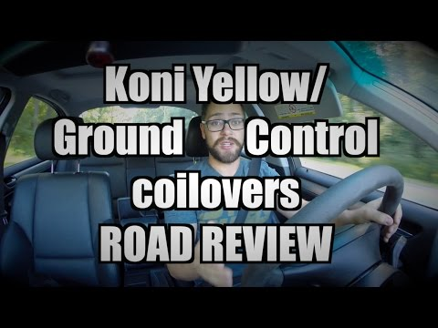 Koni Yellow Shocks with Ground Control Coilovers REVIEW