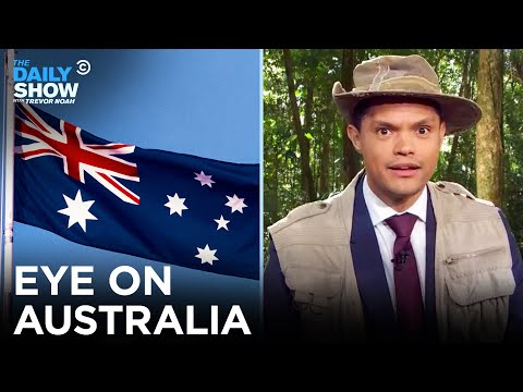 Eye on Australia: Animals, Ronny Chieng, and Mandatory Voting   The Daily Show