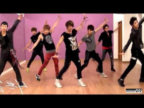 100% - Bad Boy (dance practice) mirrorDV