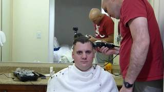 Guest Star Monday: High and Tight Haircut!!