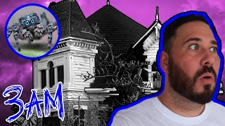 Exploring The Haunted Spider Witch House At 3AM