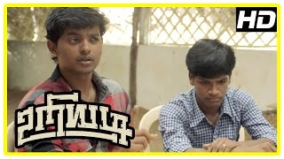 Uriyadi Tamil Movie Scenes | Goons try to eliminate Ramanathan  | Mime Gopi | Vijay Kumar
