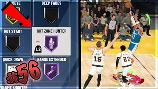 SCORING OVER 100+ POINTS ON HALL of FAME!! HOF HOT ZONE HUNTER HOF UPGRADE! NBA 2k20 MyCAREER Ep. 56