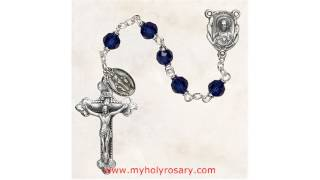 Buy Beautiful Silver Rosaries Online @ MyHolyRosarycom