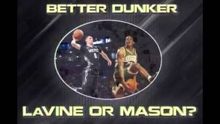 Zach LaVine vs Desmond Mason : Better Dunker? (Instagram Video)