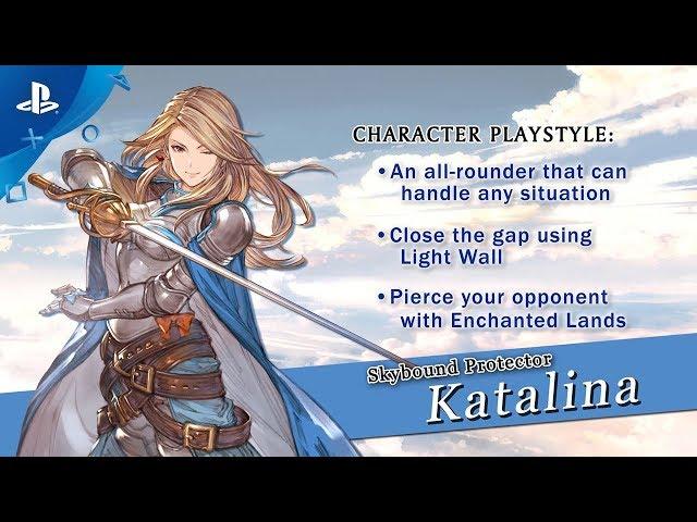 Granblue Fantasy: Versus - Katalina Character Trailer | PS4