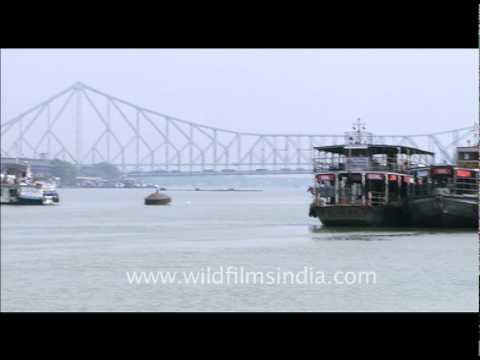 Hoogli or Hooghly River in Calcutta