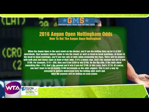 WTA Tennis - Aegon Open Nottingham