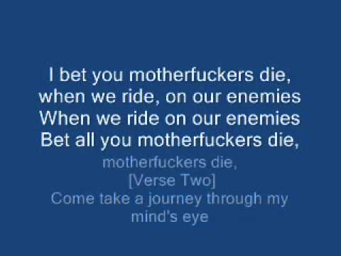 tupac when we ride on our enemies