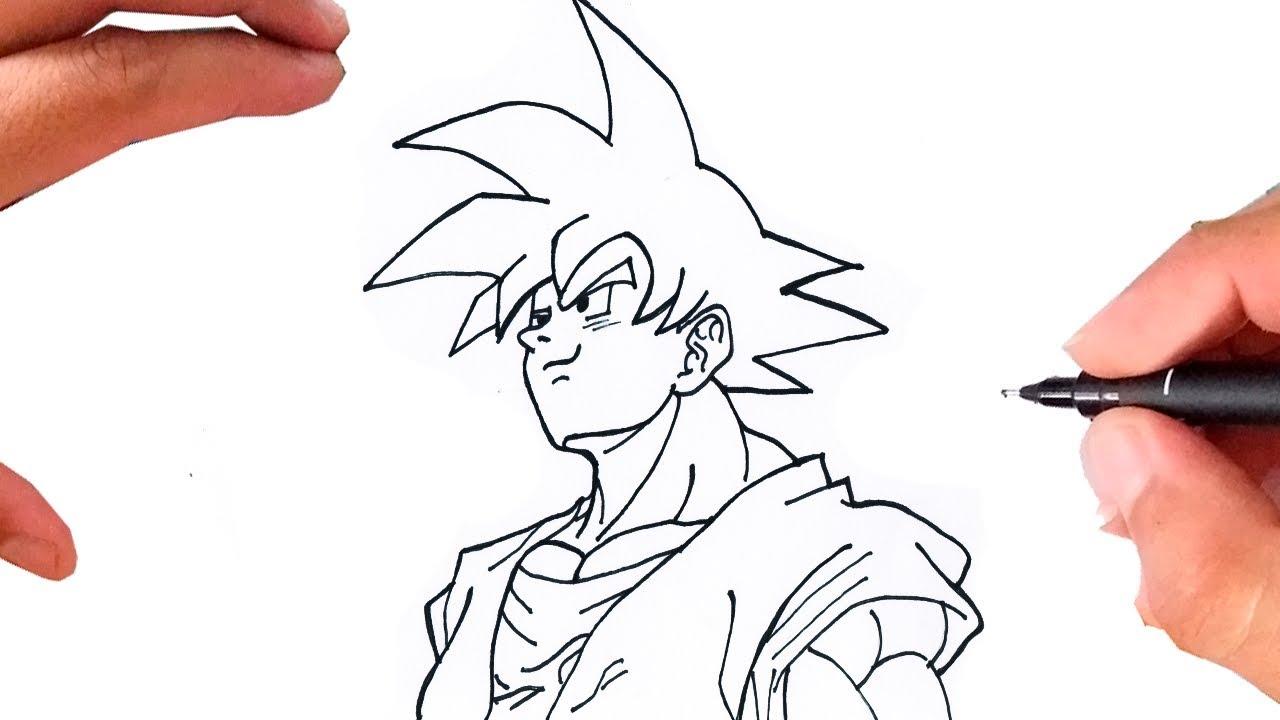 Como Desenhar Goku Super Fácil Dragon Ball Z