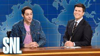 Weekend Update: Pete Davidson on Mental Health - SNL thumbnail