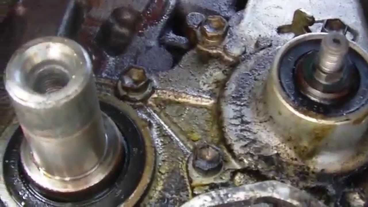 Oil Pump Seal Leaking on Toyota Engine (Tercel Paseo ...