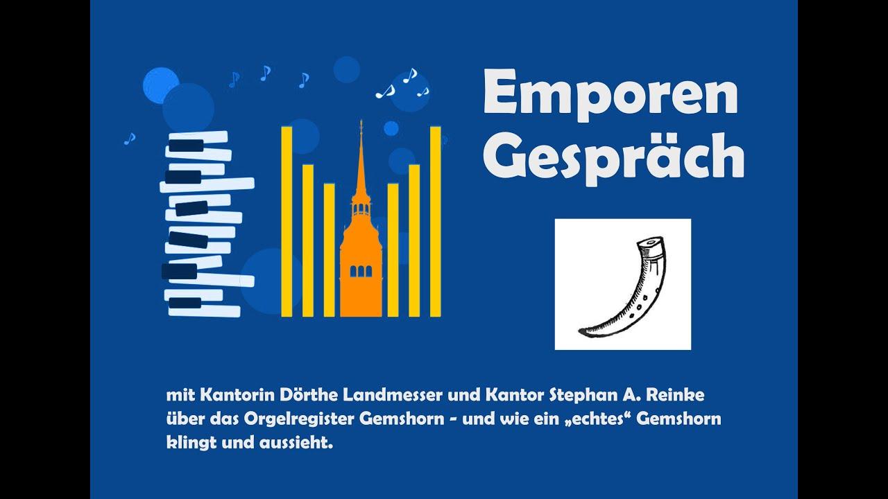Emporengespräch: Das Gemshorn