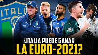 ITALIA PUEDE GANAR LA EUROCOPA RAZONES A FAVOR