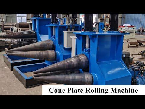 Cone Plate Rolling Machine, Special Cone Bending Machine, Three Rollers Plate Rolling Machine