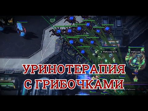 УРИНОТЕРАПИЯ С ГРИБОЧКАМИ Битва наркоманов Starcraft 2