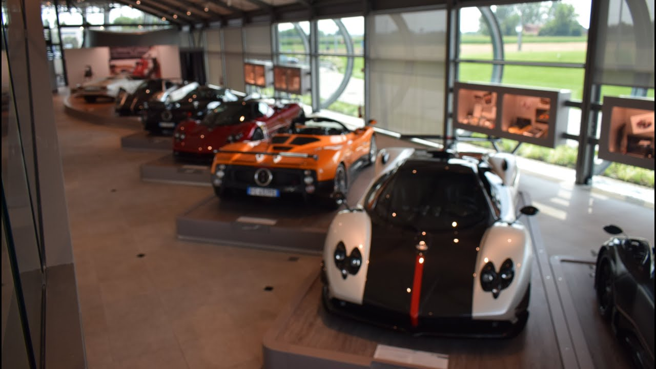Inside the New Pagani Museum - YouTube