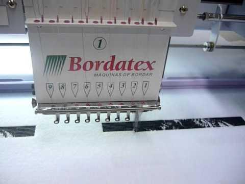99b1d1366f8 Foto Bordada - BORDATEX - Máquinas de bordar (parte 01).MOV - YouTube
