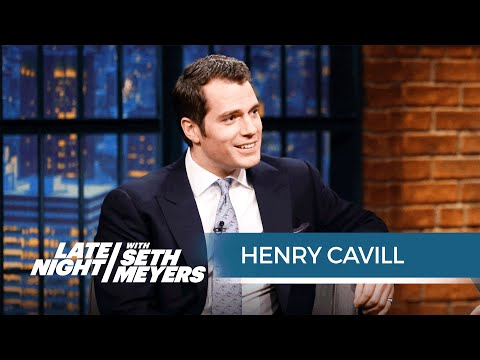 Henry Cavill Talks Batman v Superman