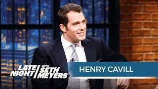 henry cavill funny interview