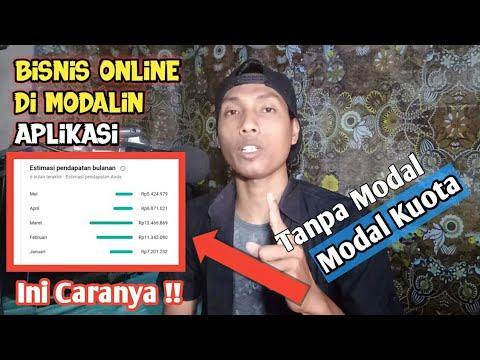 Bisnis online tanpa modal || Gunakan Modal aplikasi kredit ...