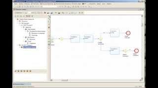 Первый пример моделирования и выполнения бизнес-процесса