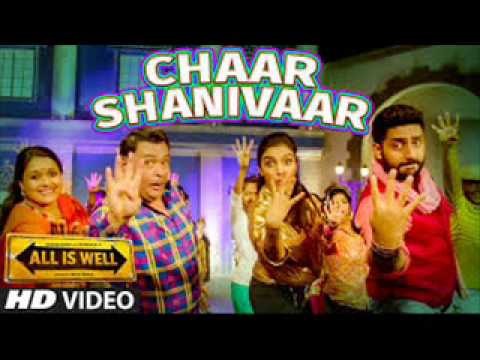 Chaar Shanivaar - All Is Well(Remix) - DJ NcAc