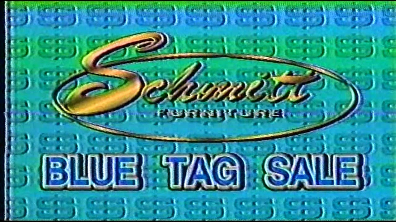 Schmitt Furniture New Albany In Blue Tag Commercial 1995