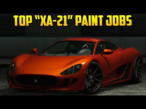 "TOP 10 ""OCELOT XA-21"" PAINT JOBS IN GTA ONLINE!"