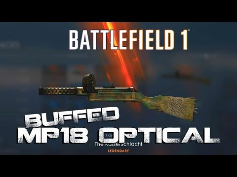 Battlefield 1 - MP 18 optical