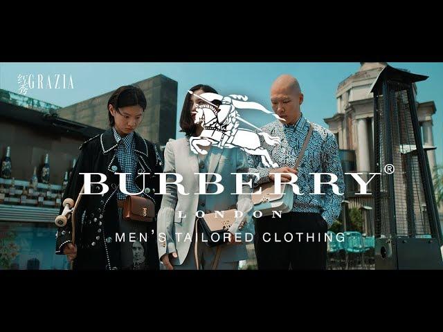 Grazia fashion film for BURBERRY